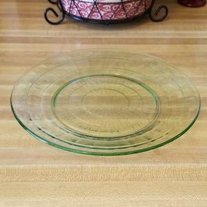 Uranium Glass Plate